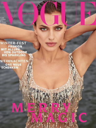 Vogue Germany December 2020 : Irina Shayk by Luigi & Iango