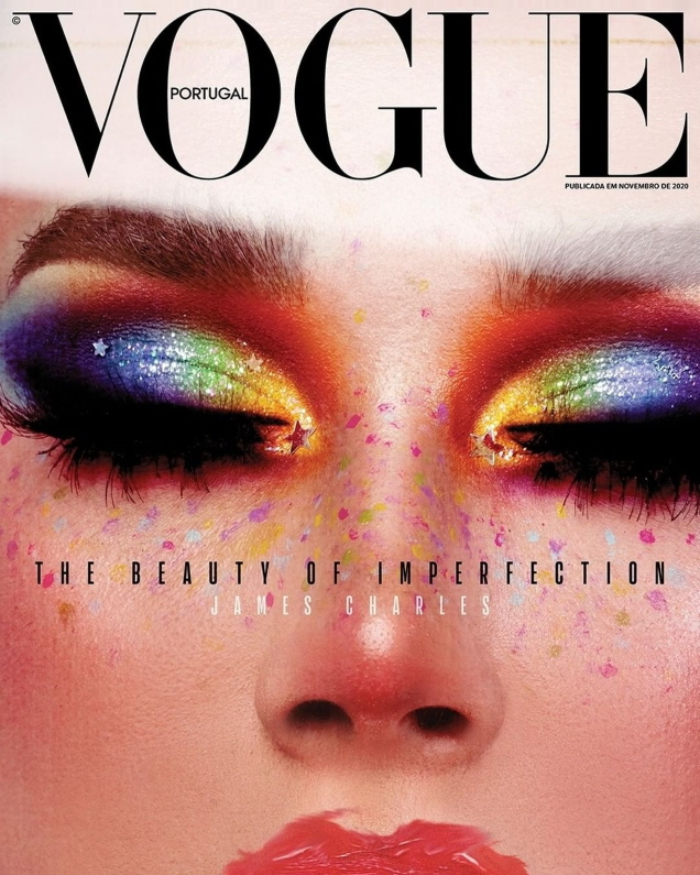Vogue Portugal November 2020 : James Charles by Marcus Cooper