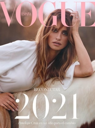 Vogue España January 2021 : Penélope Cruz by Nico Bustos