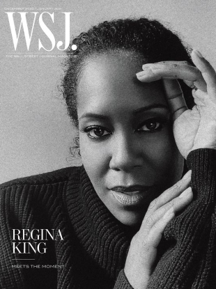 WSJ. Magazine December 2020/January 2021 : Regina King by Alexandra Leese