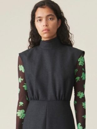 turtleneck dress pairings