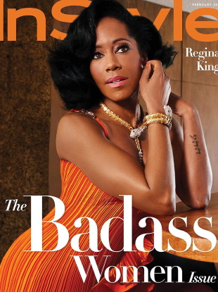 US InStyle February 2021 : Regina King by Christian Cody