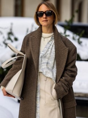 Stockholm Fashion Week Fall 2021 street style