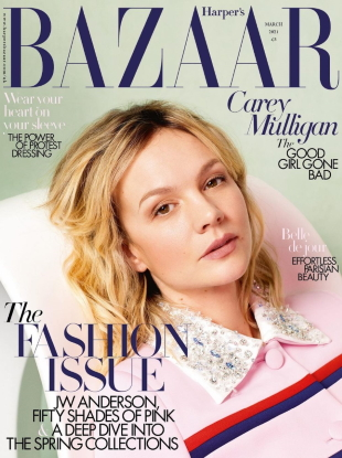 UK Harper's Bazaar March 2021 : Carey Mulligan by Quentin Jones