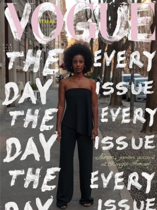 Vogue Italia February 2021 : The 'Everyday' Issue by Carlos Nazario