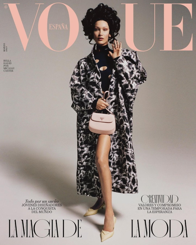 Vogue España March 2021 : Bella Hadid by Micaiah Carter