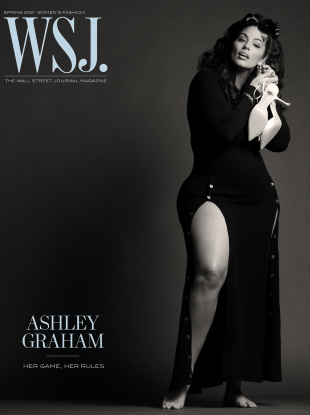 WSJ. Magazine Spring 2021 : Ashley Graham by Ethan James Green