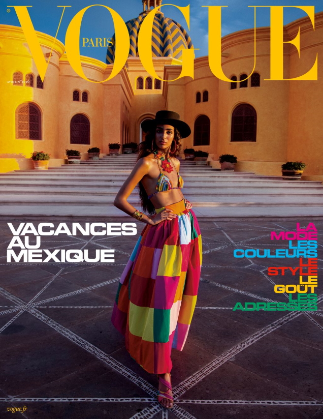 Vogue Paris April 2021 : Nora Attal by Inez van Lamsweerde & Vinoodh Matadin