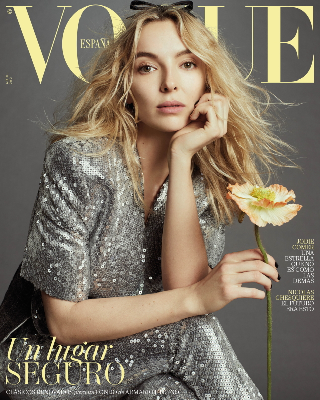 Vogue España April 2021 : Jodie Comer by Emma Summerton