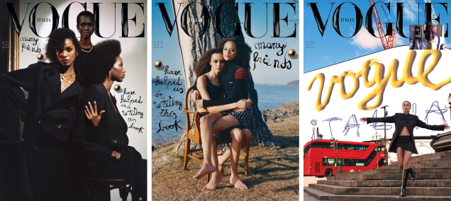 Vogue Italia April 2021 : The Many Friends Issue