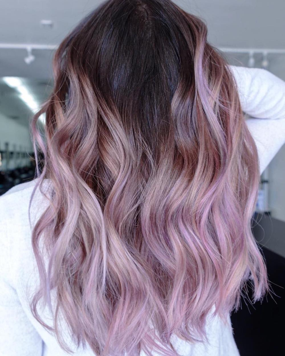 17 Stunning Shadow Roots Hair Colors Thefashionspot