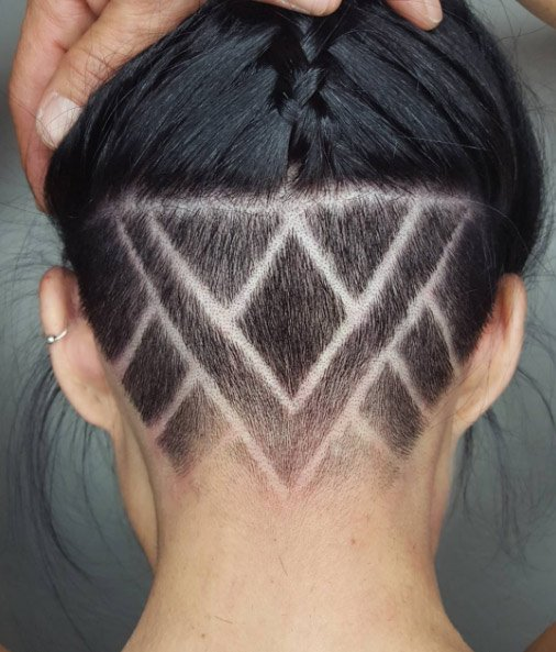 26 Undercut Hairstyles For Women That Are A Party In The Back Thefashionspot