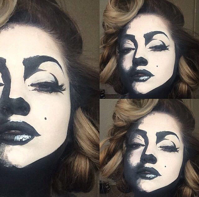 Cartoon Halloween Makeup.101 Mind Blowing Halloween Makeup Ideas To Try This Year Thefashionspot
