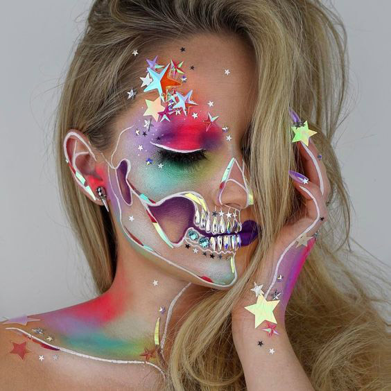 101 Mind Blowing Halloween Makeup Ideas To Try This Year Thefashionspot