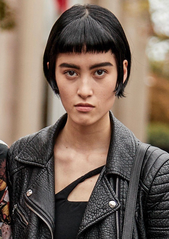 How To Pull Off Baby Bangs In The Real World Thefashionspot