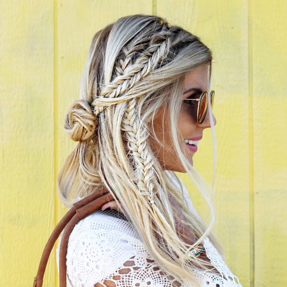 30 Festival Ready Braided Hairstyles To Inspire Your Look Thefashionspot