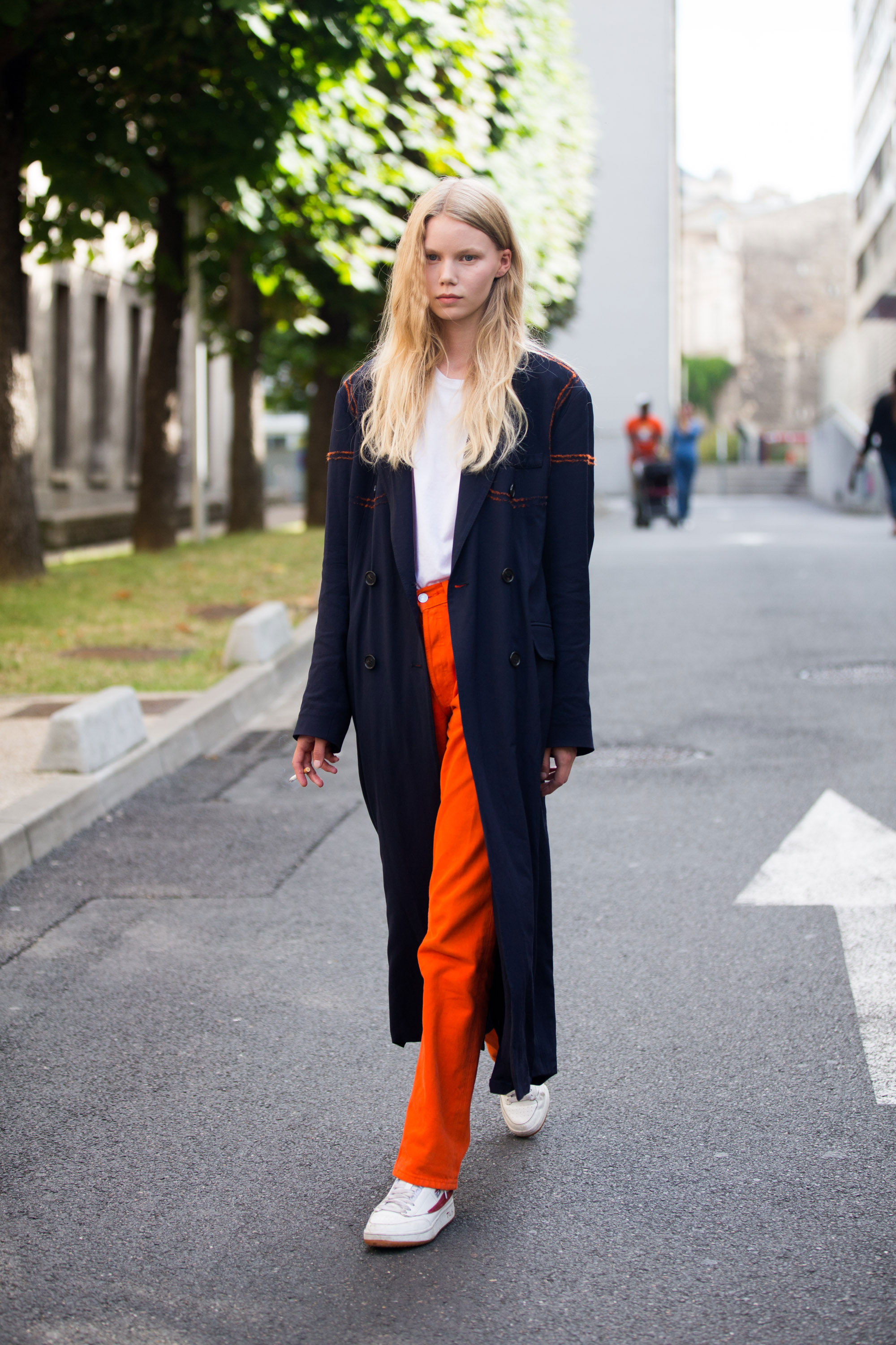 How To Wear Sneakers With Everything Thefashionspot