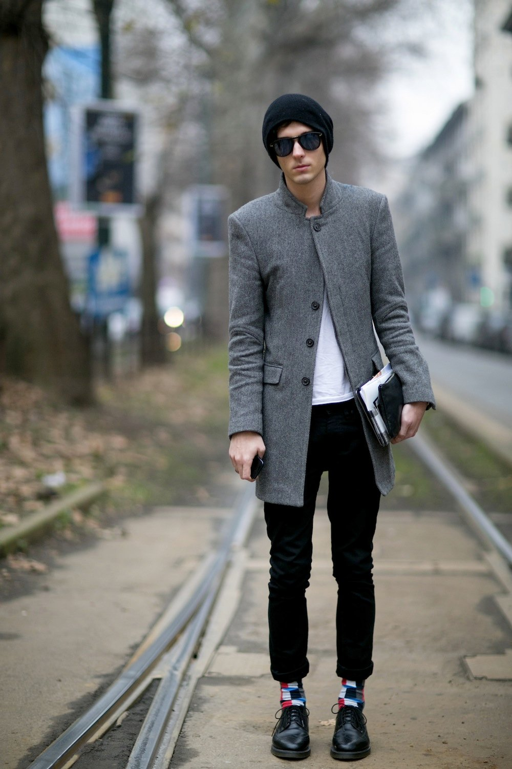 50 Of The Best Street Style Snaps From Milan Men S Fashion Week Fall 2014 Thefashionspot