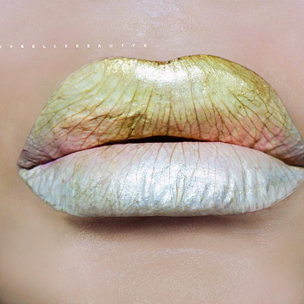 Cool Lip Art Looks You Have To See To Believe Thefashionspot