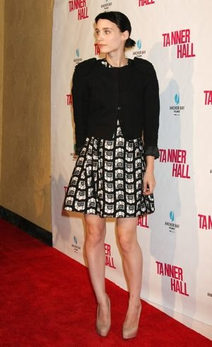 Rooney Mara Tanner Hall Los Angeles screening Sept 2011