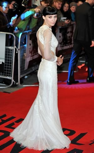 Rooney Mara The Girl With The Dragon Tattoo World Premiere London Dec 2011
