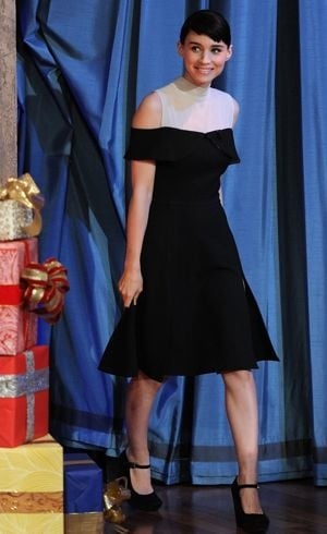Rooney Mara on Late Night with Jimmy Fallon Dec 2011