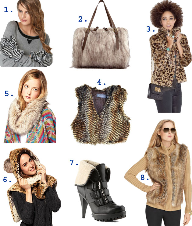 the best faux fur finds under $100