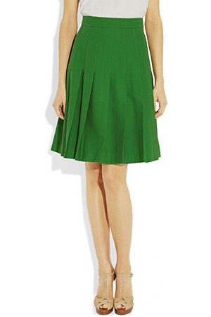 forum buys - green skirt by Black Fleece