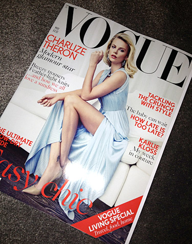 Charlize Theron - Vogue UK May 2012
