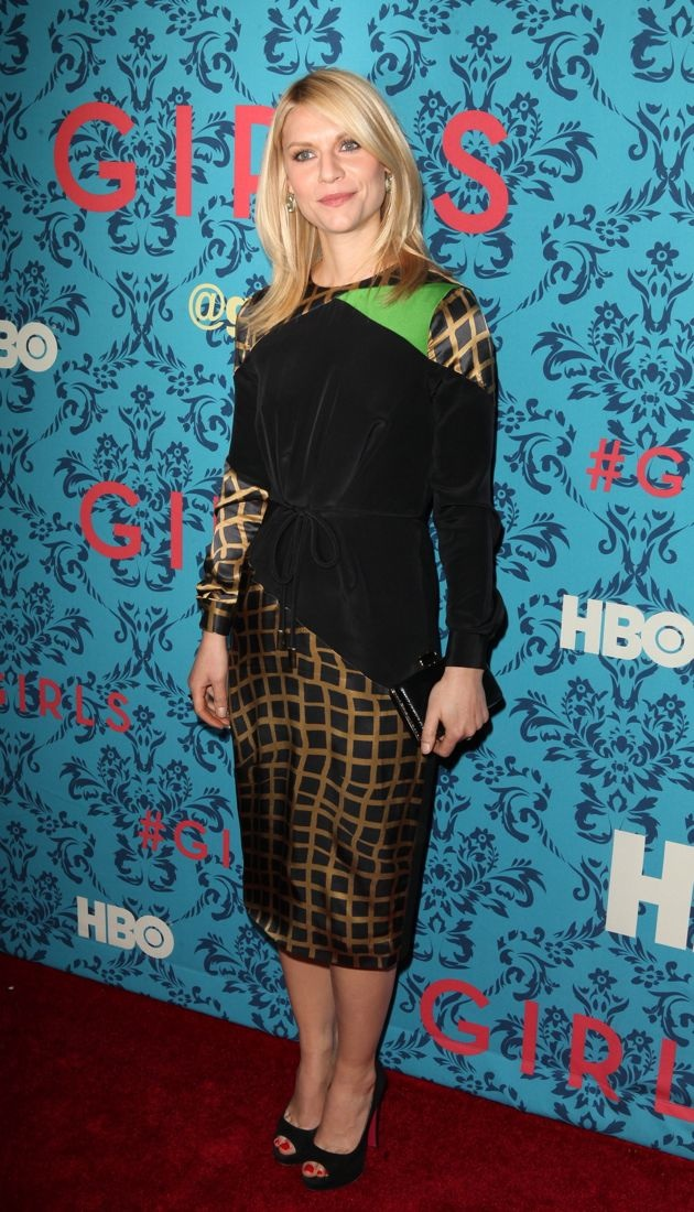 Claire Danes New York Premiere of HBO Girls