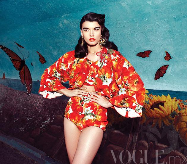 Crystal Renn - Vogue Mexico May 2012