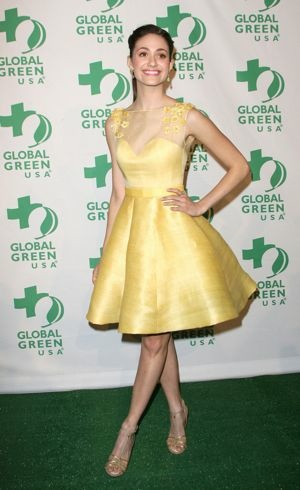 Emmy Rossum Global Green USA 9th Annual Pre-Oscar Party Hollywood Feb 2012