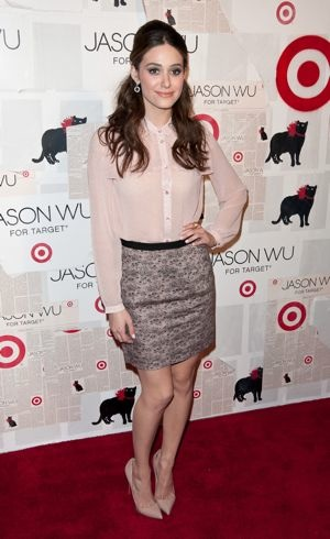 Emmy Rossum Jason Wu for Target Launch New York City Jan 2012