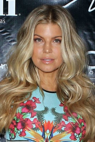 Fergie celebrating her birthday Las Vegas cropped