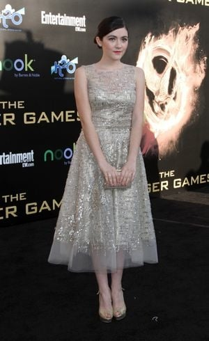 Isabelle Fuhrman Los Angeles premiere of The Hunger Games March 2012