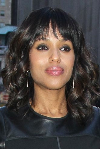 Kerry Washington outside ABC Studios for Good Morning America New York City cropped