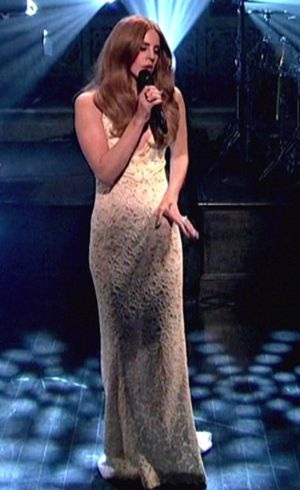 Lana Del Rey Saturday Night Live Jan 2012