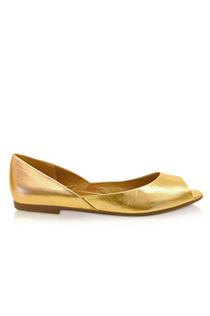 forum buys - Marc by Marc Jacobs gold flats