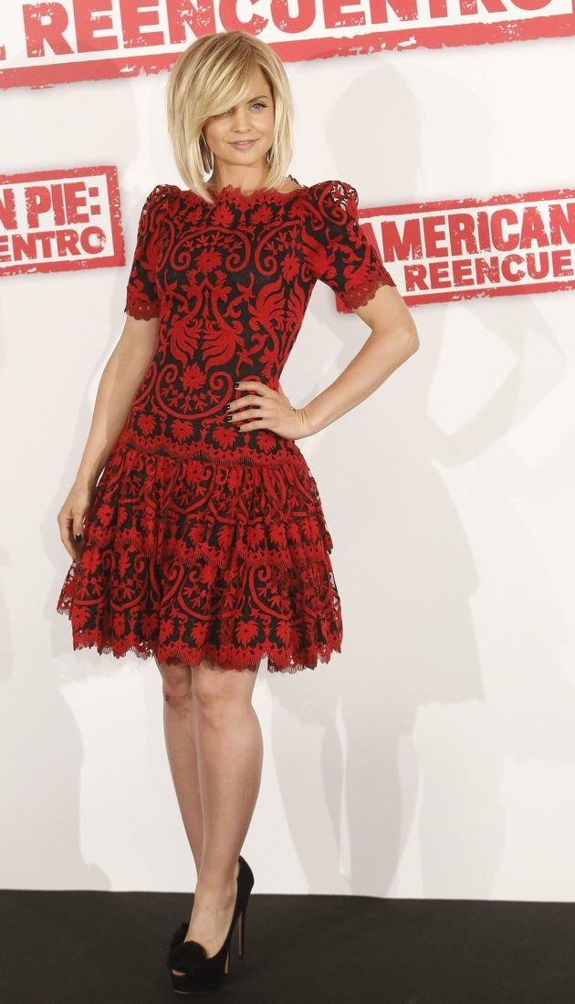 Mena Suvari American Pie Reunion Photocall Madrid