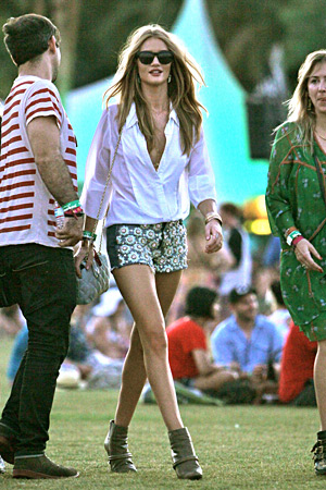 Rosie Huntington-Whiteley at Coachella 2012