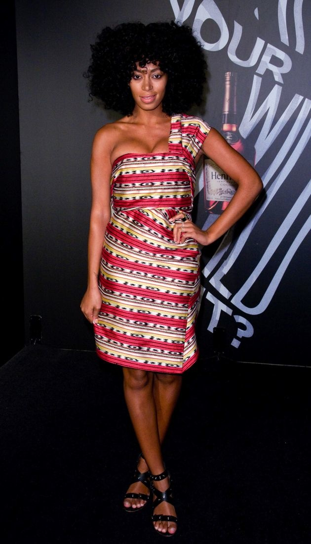 Solange Knowles The Hennessy Wild Rabbit campaign launch event New York City