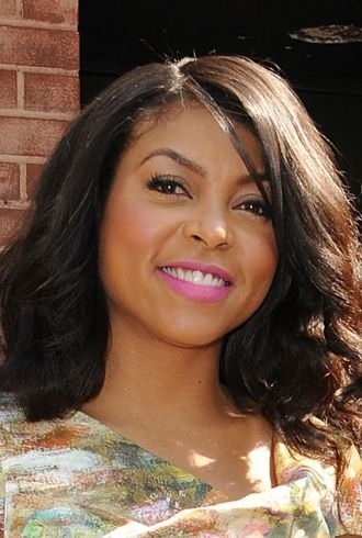 Taraji P Henson leaves the Wendy Williams show New York City cropped