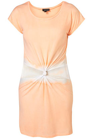 Topshop orange tie-dye dress - forum buys
