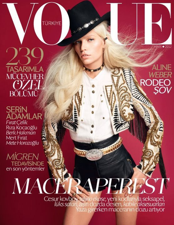 Vogue Turkey May 2012 - Aline Weber