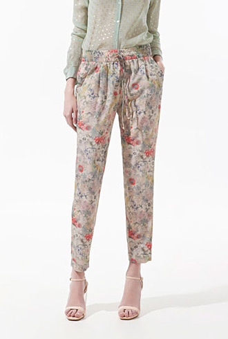 forum buys - Zara floral pants