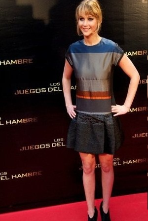 Jennifer Lawrence wears Victoria Beckham