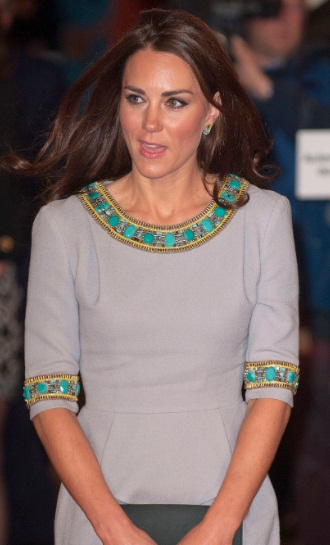 Kate Middleton at African Cats