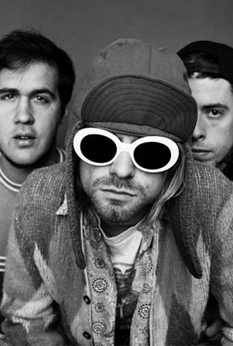 Kurt Cobain and his band Nirvana redefined the fashion and sound of the  nineties 05f4b0c46e2