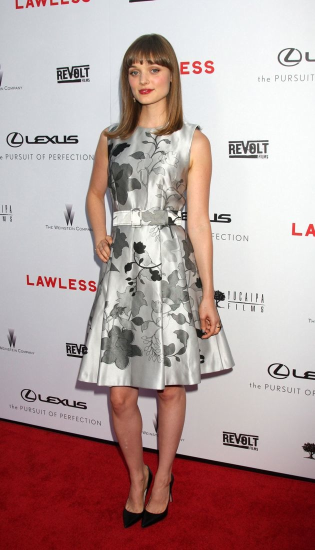 Bella Heathcote premiere of Lawless Hollywood