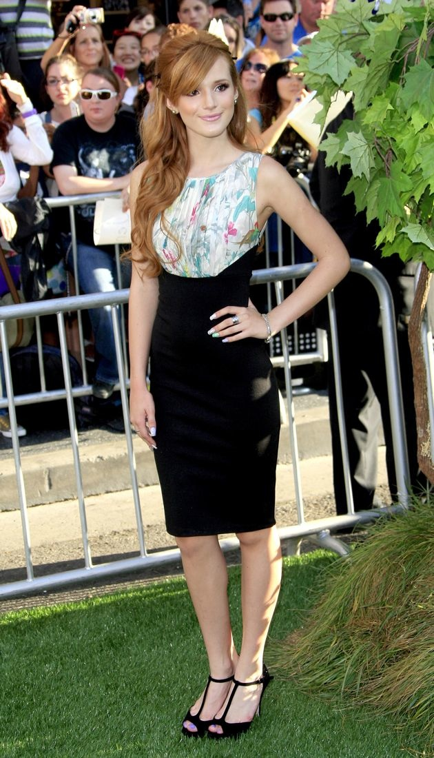 Bella Thorne World Premiere of The Odd Life of Timothy Green Los Angeles
